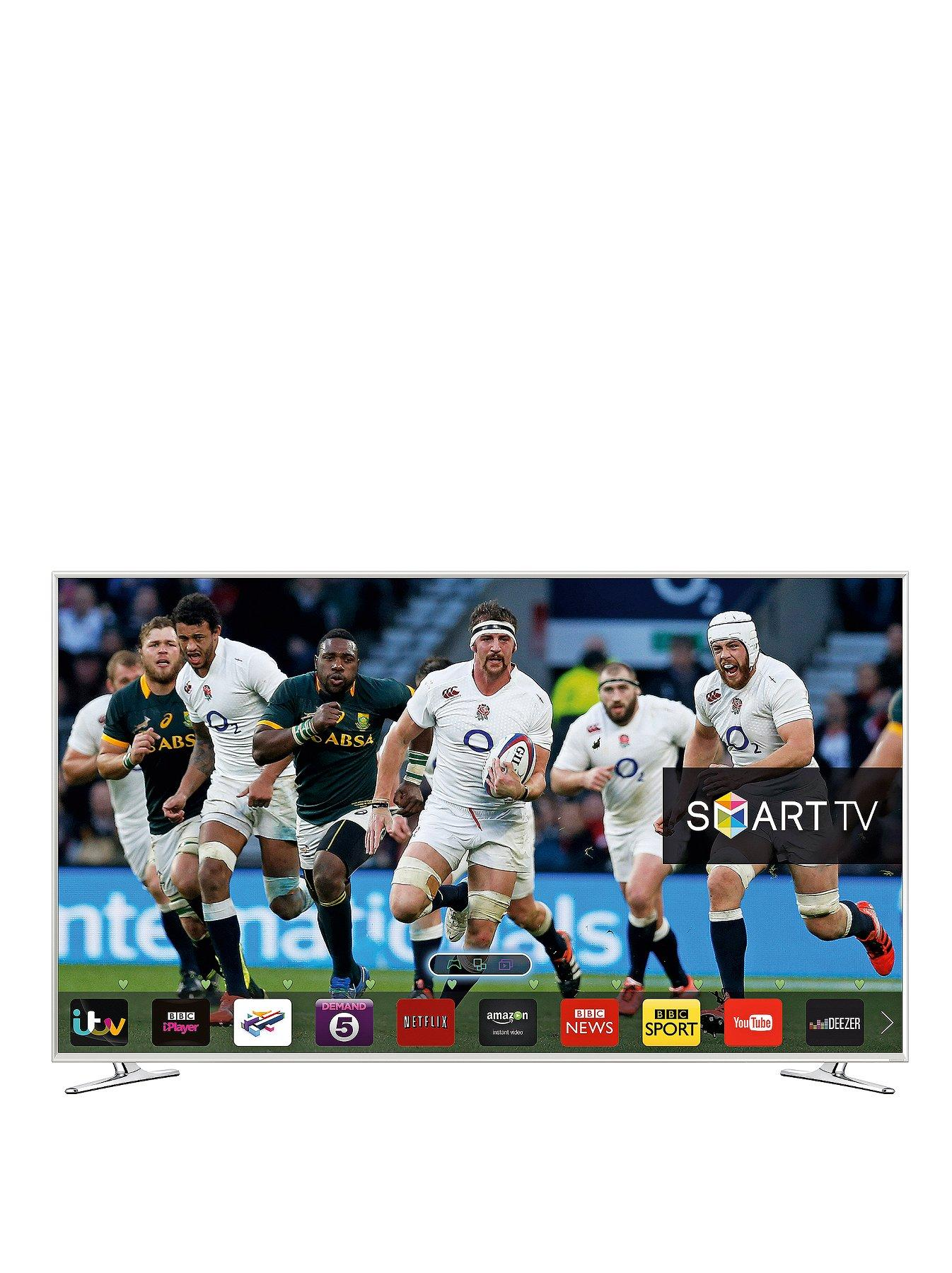 Samsung UE48H6410 48 inch Active 3D Smart Full HD Freeview HD LED TV - White