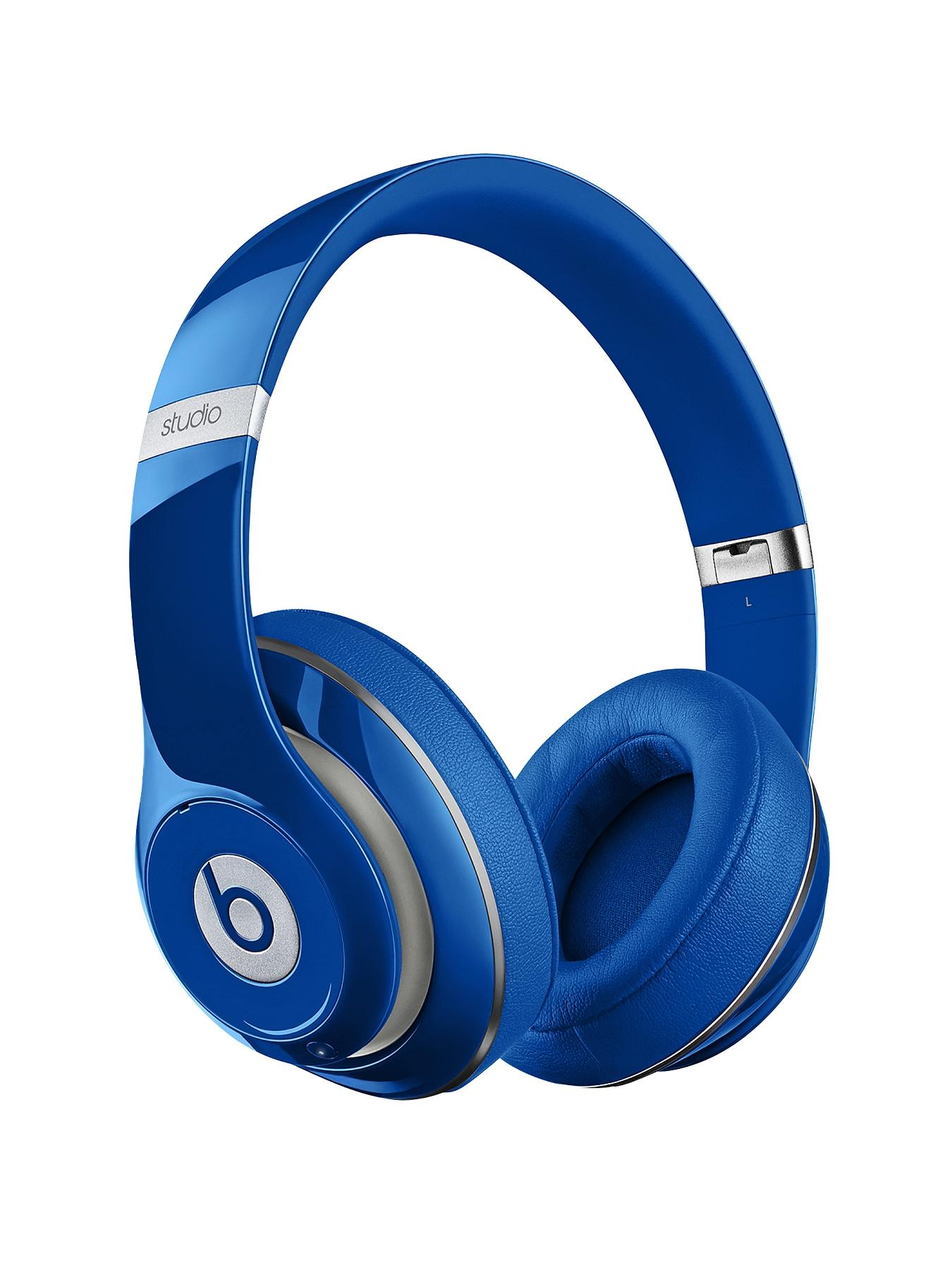 Beats by Dr Dre Studio Wireless Over Ear Headphones - Blue