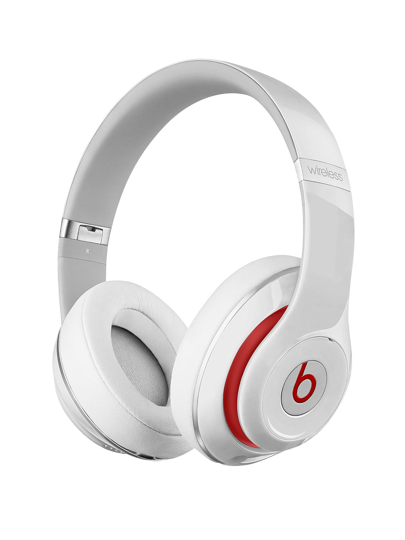 Beats by Dr Dre Studio Wireless Over Ear Headphones - White
