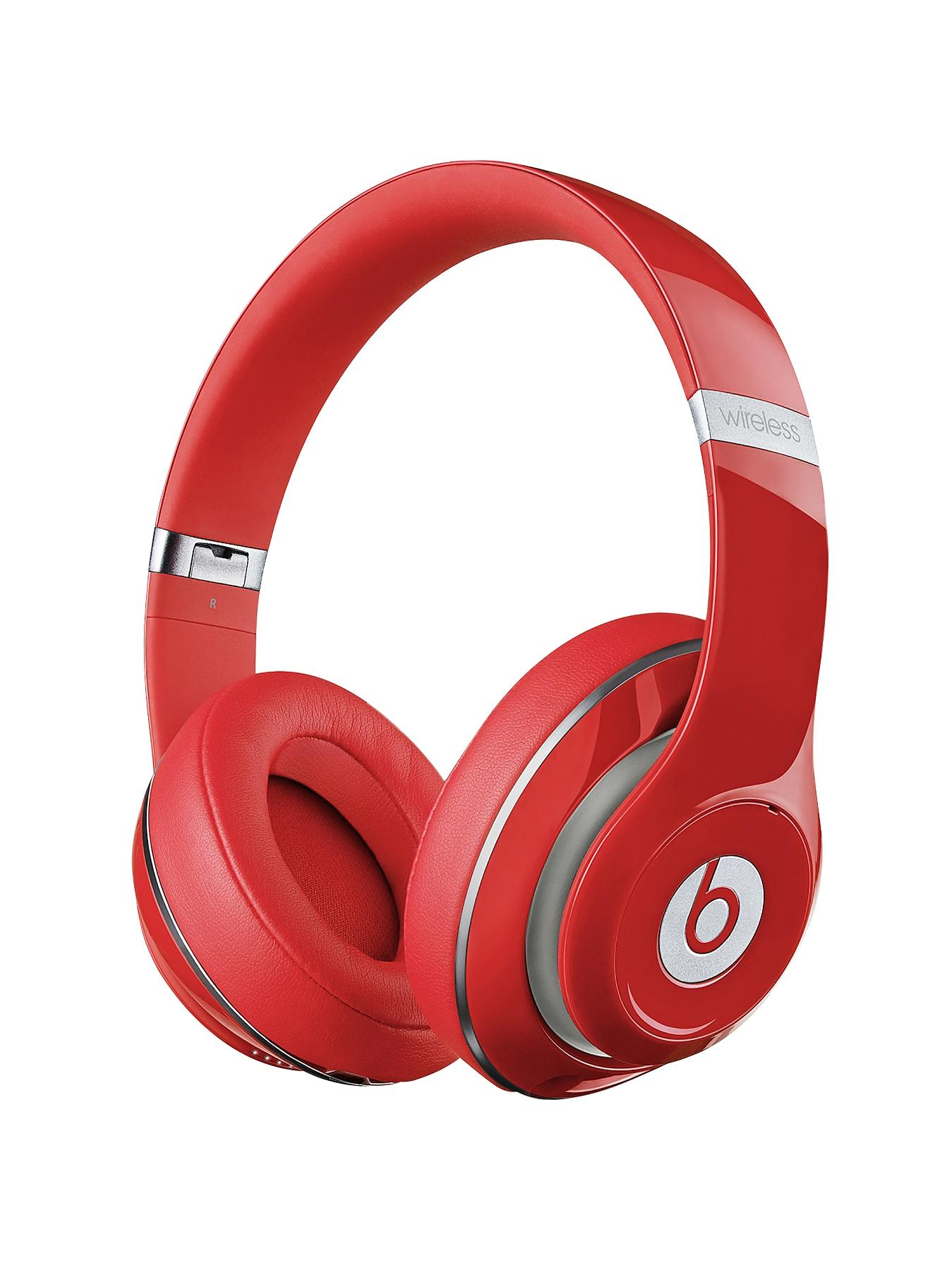 Beats by Dr Dre Studio Wireless Over Ear Headphones - Red
