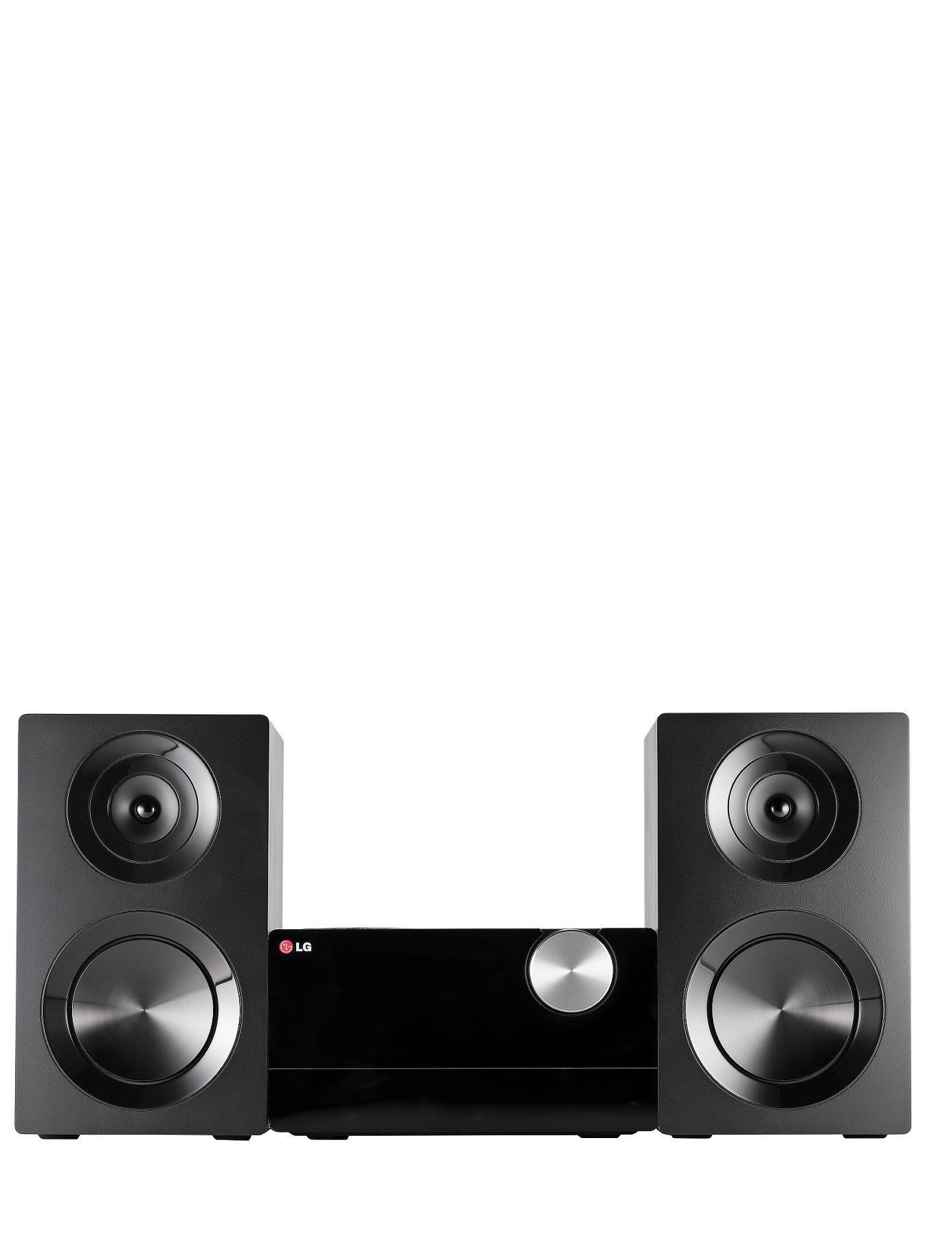 LG CM2440DAB Micro HiFi - Black, Black