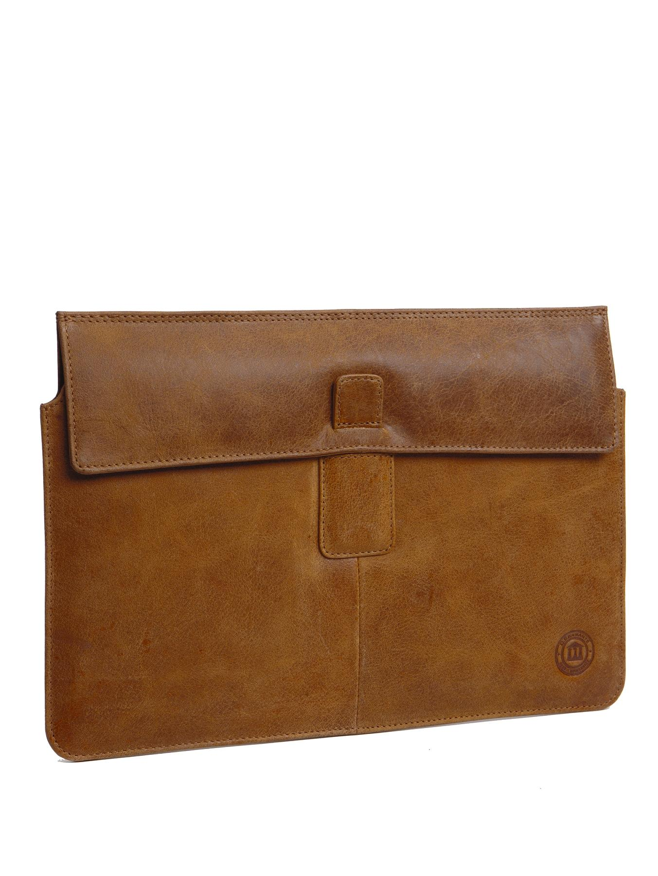 dbramante1928 MacBook Pro 13 inch Leather Envelope Case - Golden Tan