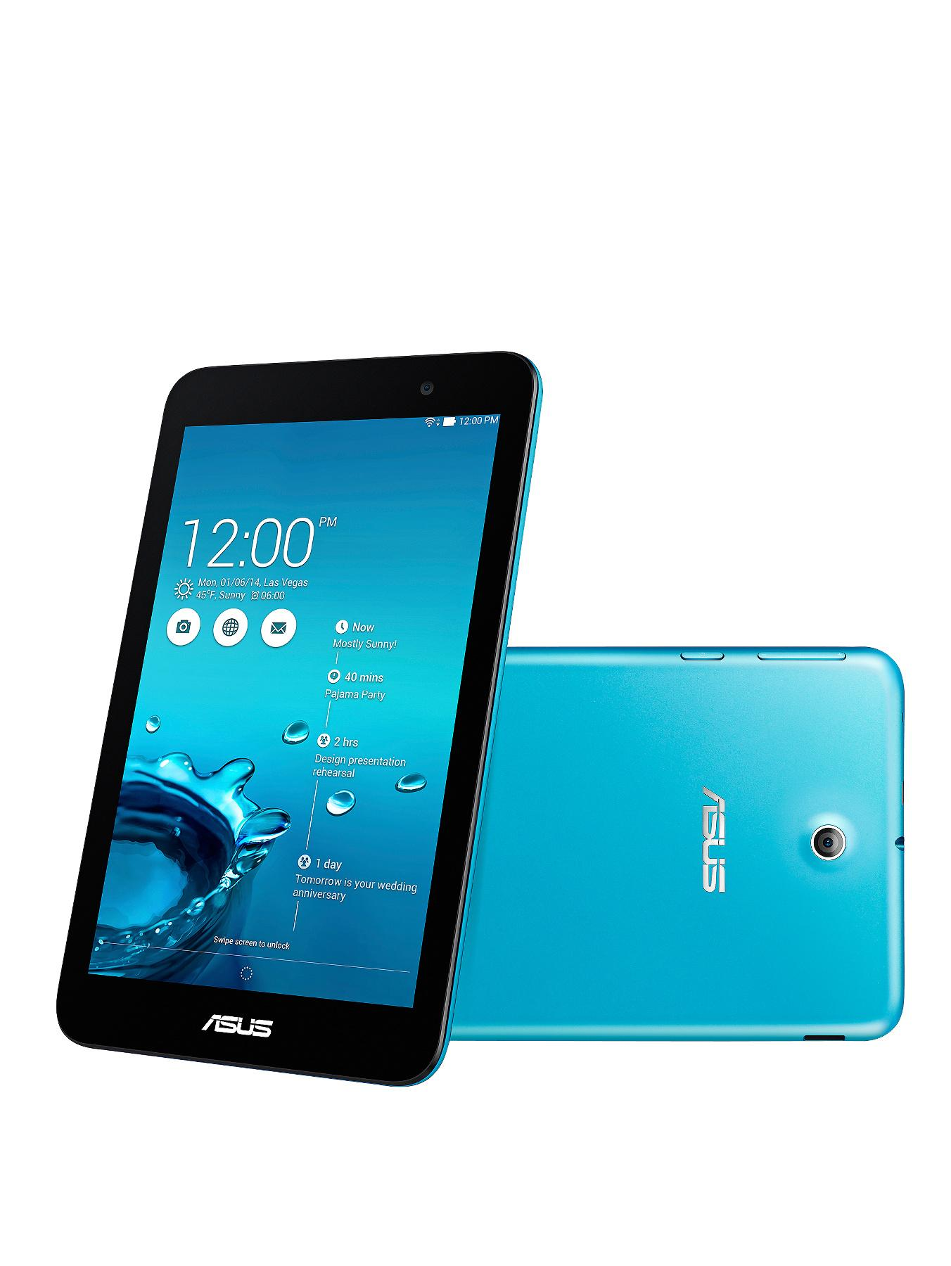 Asus MeMO Pad 7 ME176CX Intel Atom Quad Core Processor, 1Gb RAM, 16Gb Storage, Wi-Fi, 7 inch Tablet - Blue
