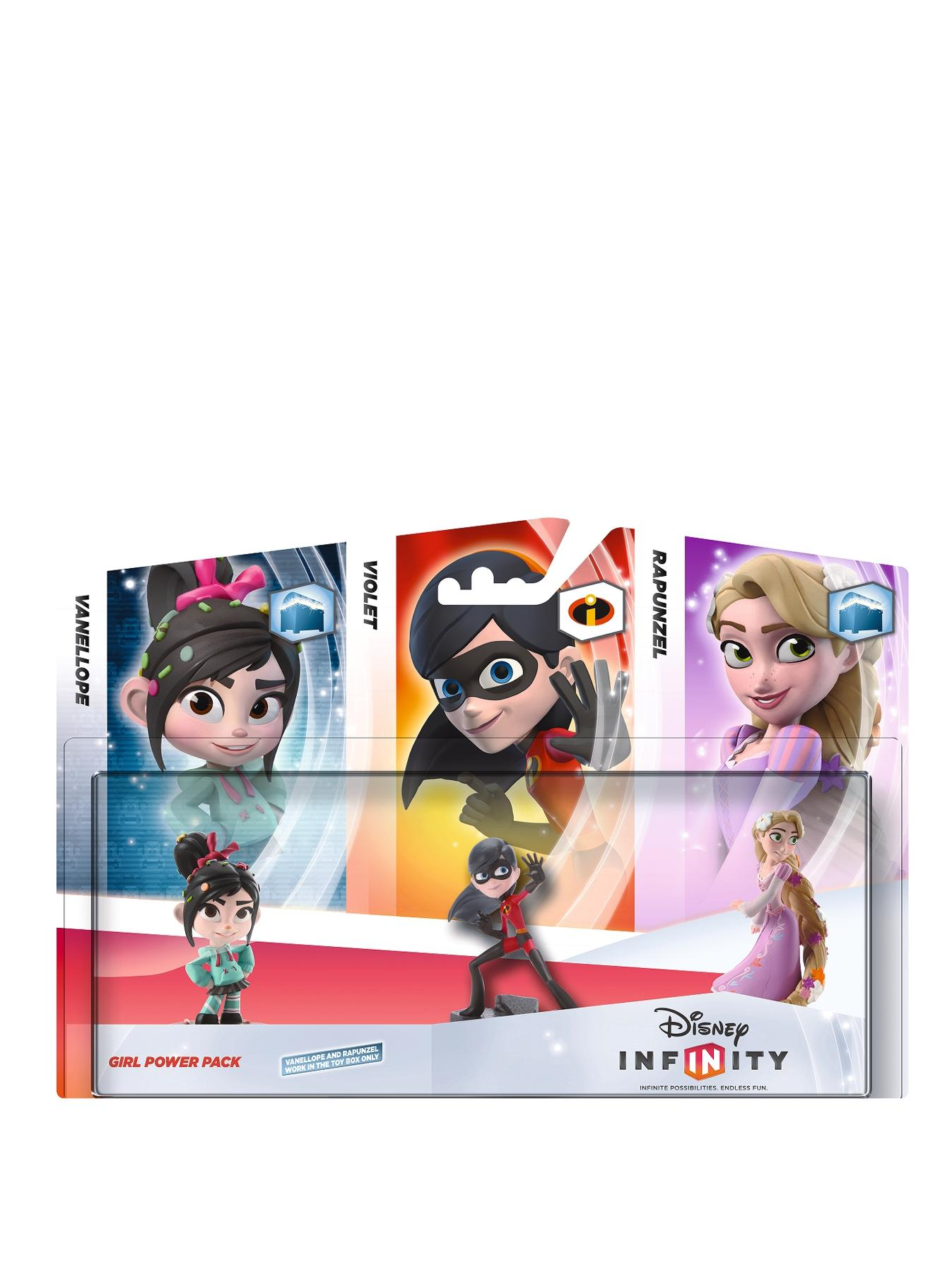 Disney Infinity Girl Power Playset Pack - Violet, Rapunzel and Vanellope
