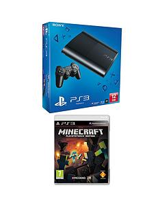 playstation-3-12gb-console-with-minecraft