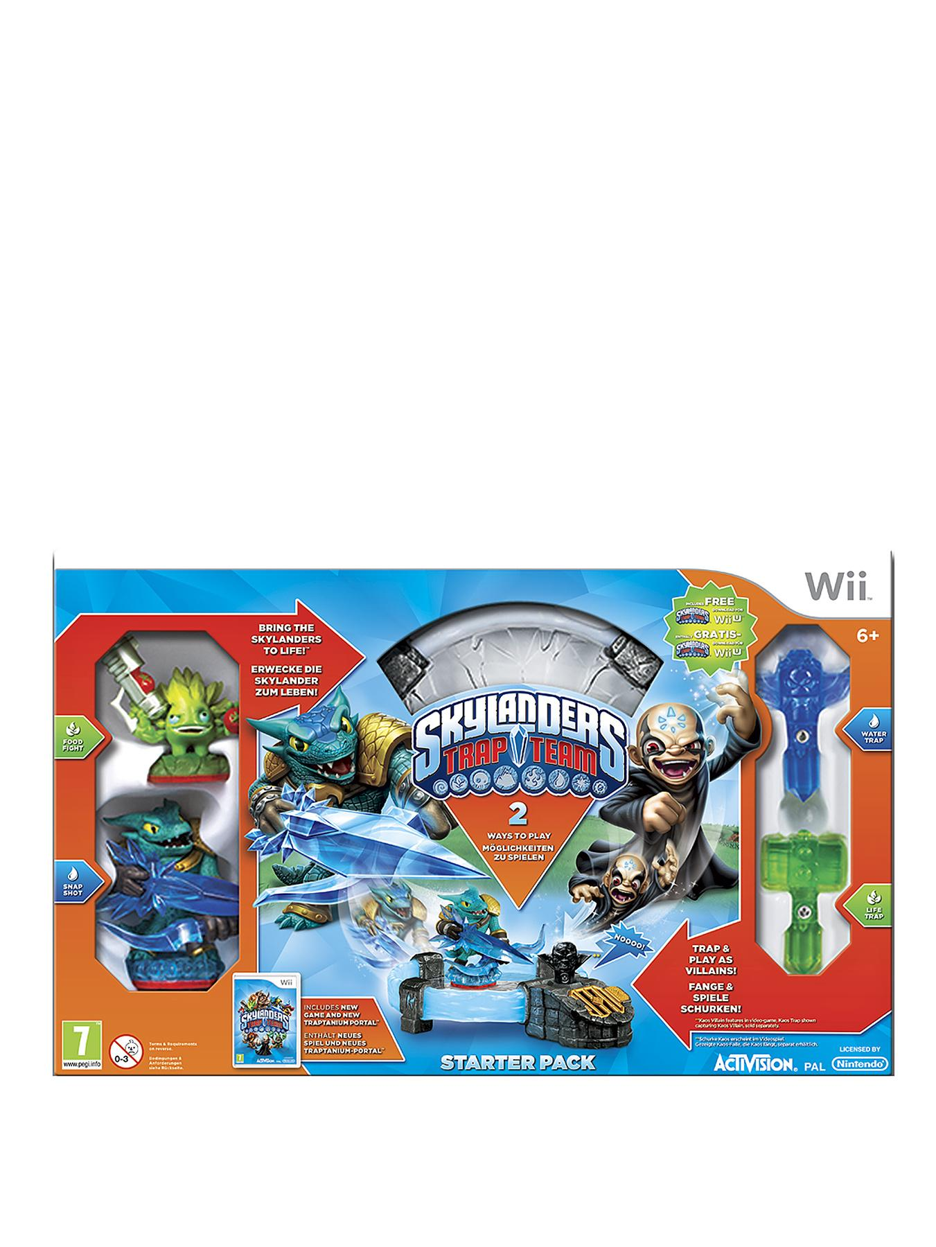 Skylanders Trap Team Starter Pack for Wii