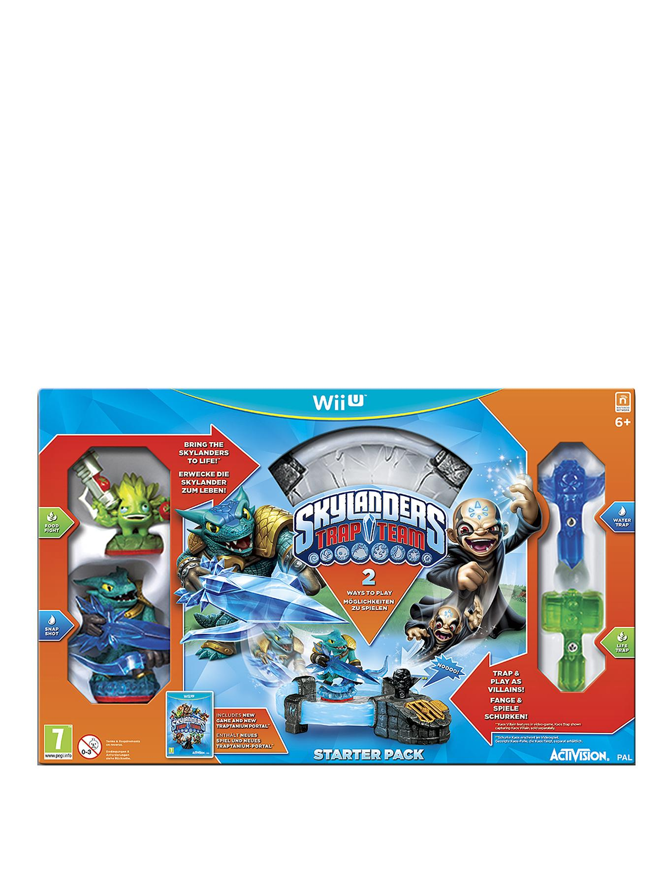 Skylanders Trap Team Starter Pack for Wii U