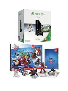 xbox-360-500gb-console-with-plants-vs-zombies-garden-warfare-and-disney-infinity-20-marvel-superheroes-starter-pack