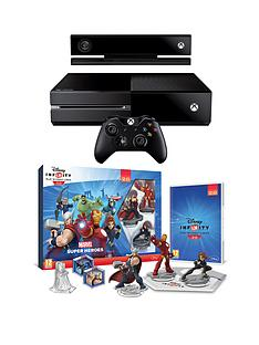 xbox-one-console-with-kinect-and-disney-infinity-20-marvel-superheroes-starter-pack