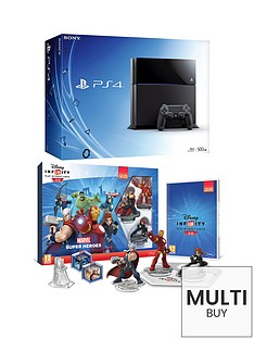 playstation-4-500gb-console-disney-infinity-20-marvel-superheros-starter-pack-free-driveclub-minecraft