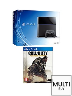 playstation-4-500gb-console-call-of-duty-advanced-warfare-free-infamous-second-son-the-order-1886