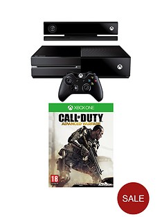 xbox-one-console-with-kinect-call-of-duty-advanced-warfare-and-optional-3-or-12-months-xbox-live