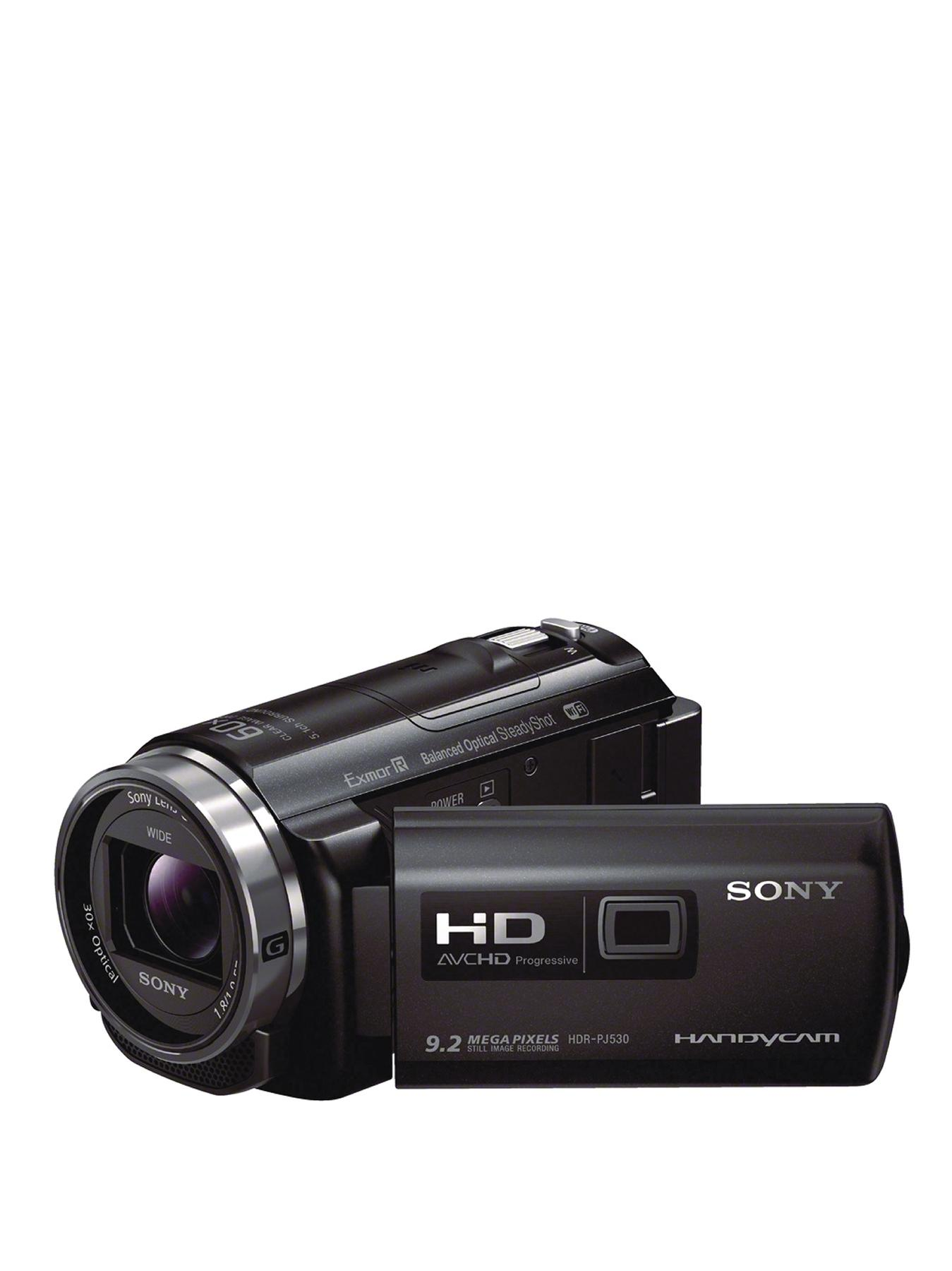 Sony PJ530E Full HD Camcorder with Built In Projector