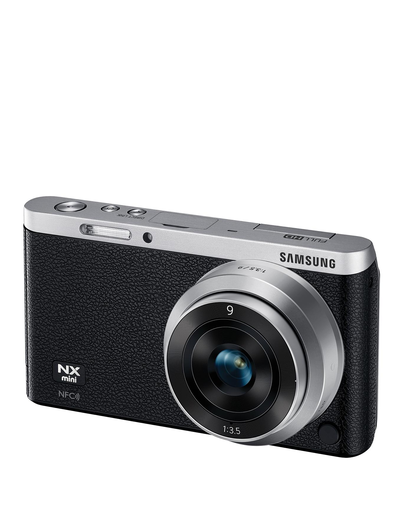 Samsung NX Mini 20.5 Megapixel Digital Camera - White, White at Very, from Littlewoods