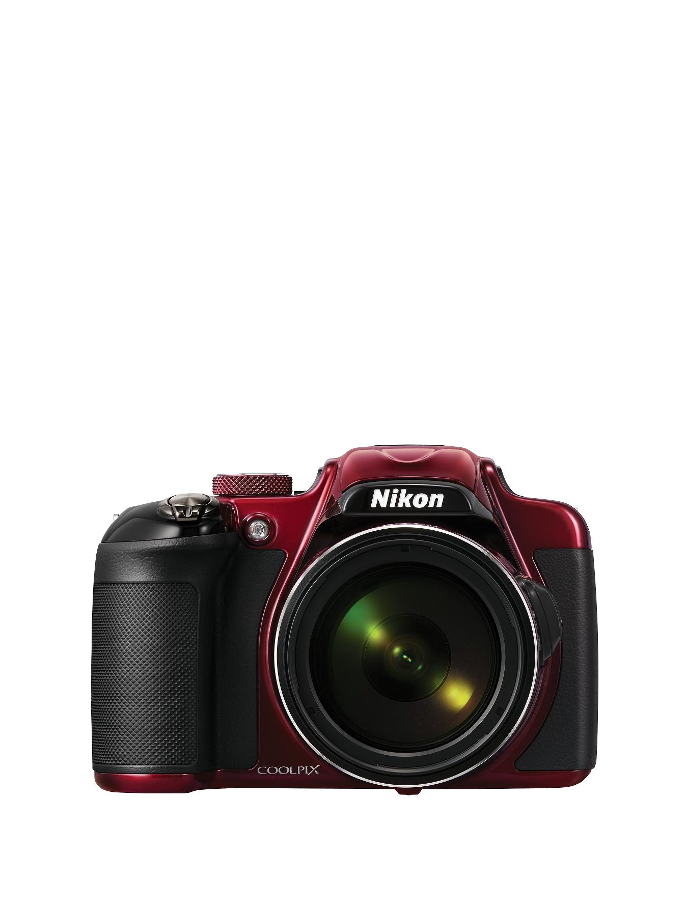 Nikon P600 Coolpix 16 Megapixel Digital Camera - Red