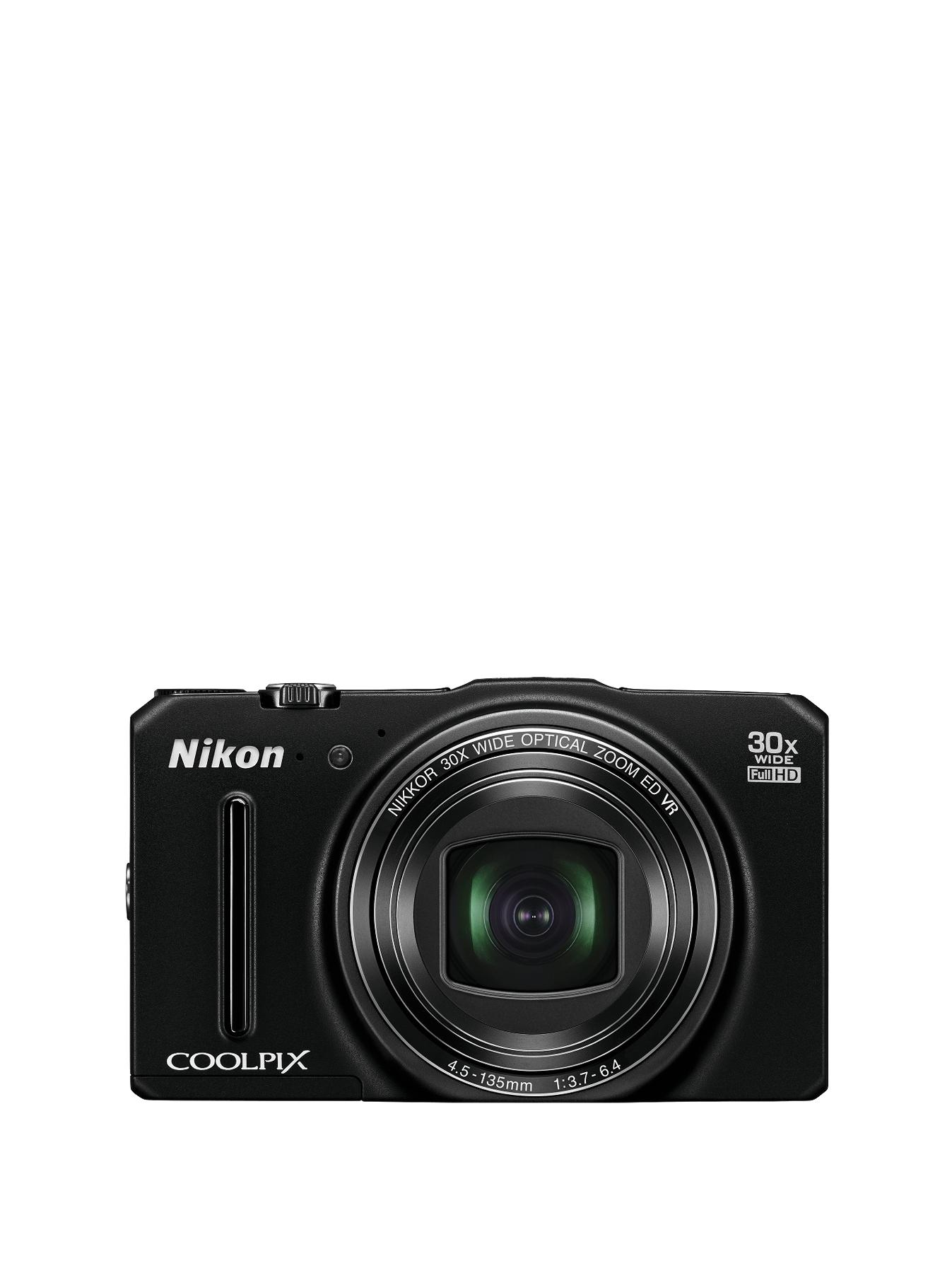 Nikon COOLPIX S9700 Compact Digital Camera