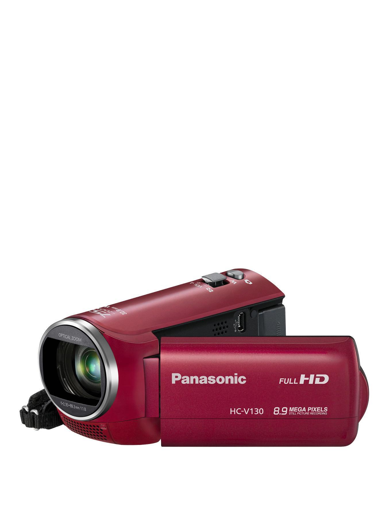 Panasonic HC-V130EB-R Camcorder