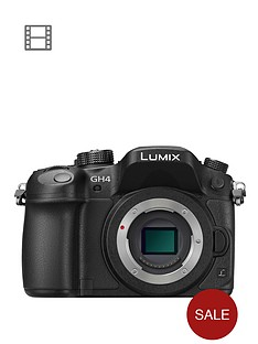 panasonic-claim-pound100-cashbackdmc-gh4eb-k-lumix-g-compact-system-camera-with-4k-video-and-wifi-body-only