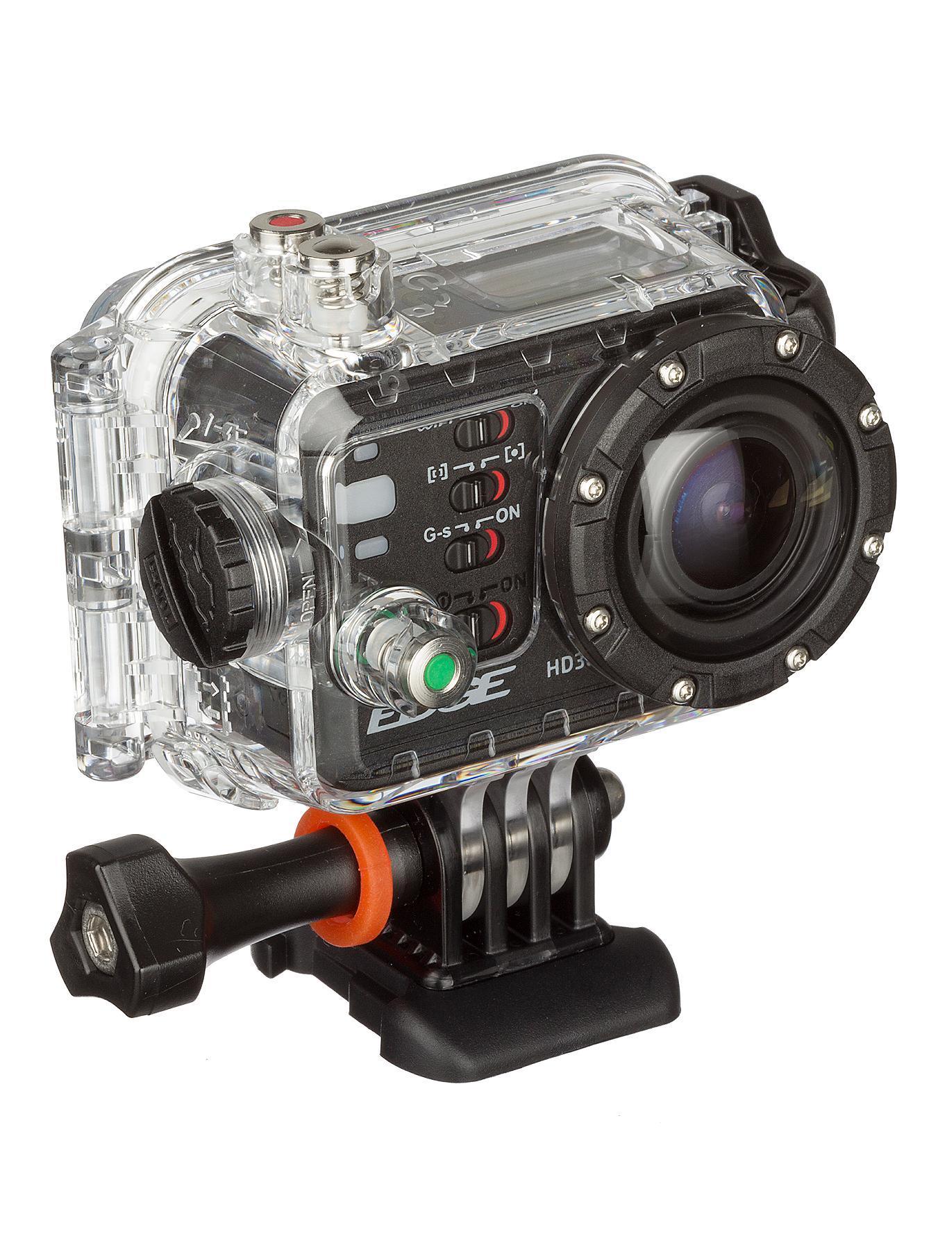 Kitvision Edge HD30W Action Camera - Black