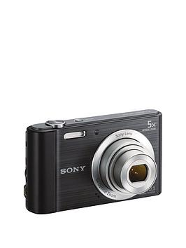 Sony W800 Cyber-Shot 20.1 Megapixel Digital Camera - Black