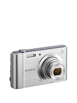 Sony W800 Cyber-Shot 20.1 Megapixel Digital Camera - Silver