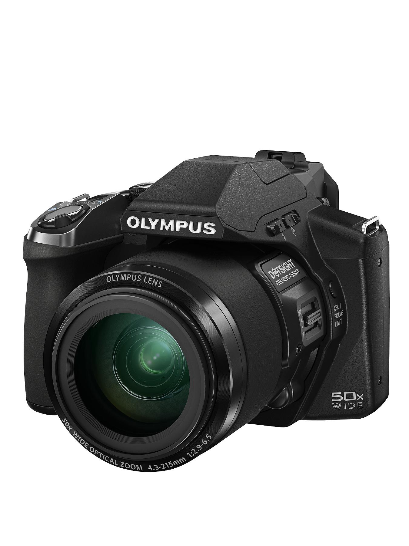 Olympus SP-100EE 14 Megapixel, 50x Zoom, 3 inch LCD, 24 mm Wide Bridge Digital Camera