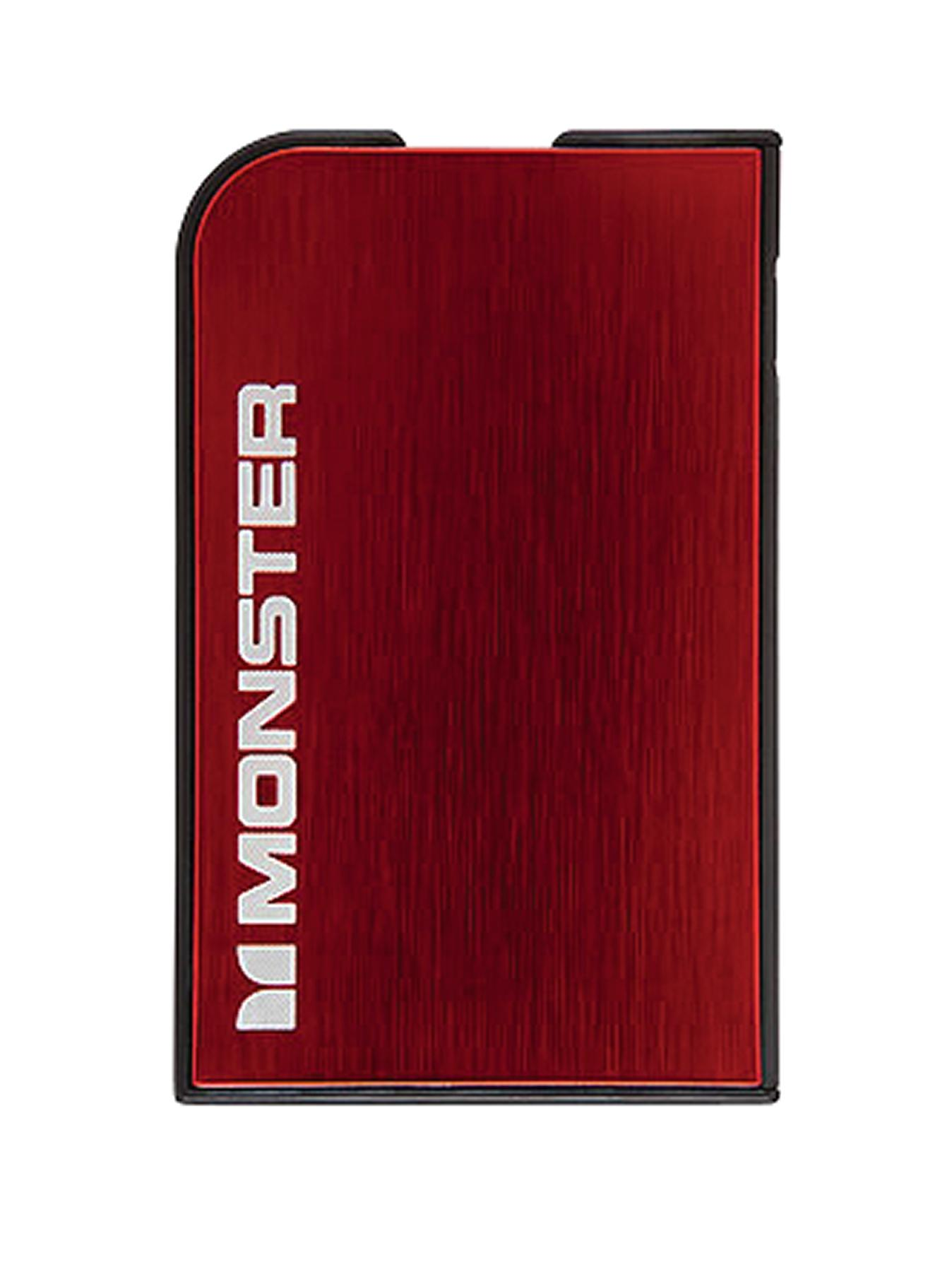 Monster Charging Mobile PowerCard Portable Battery - Silver, Silver