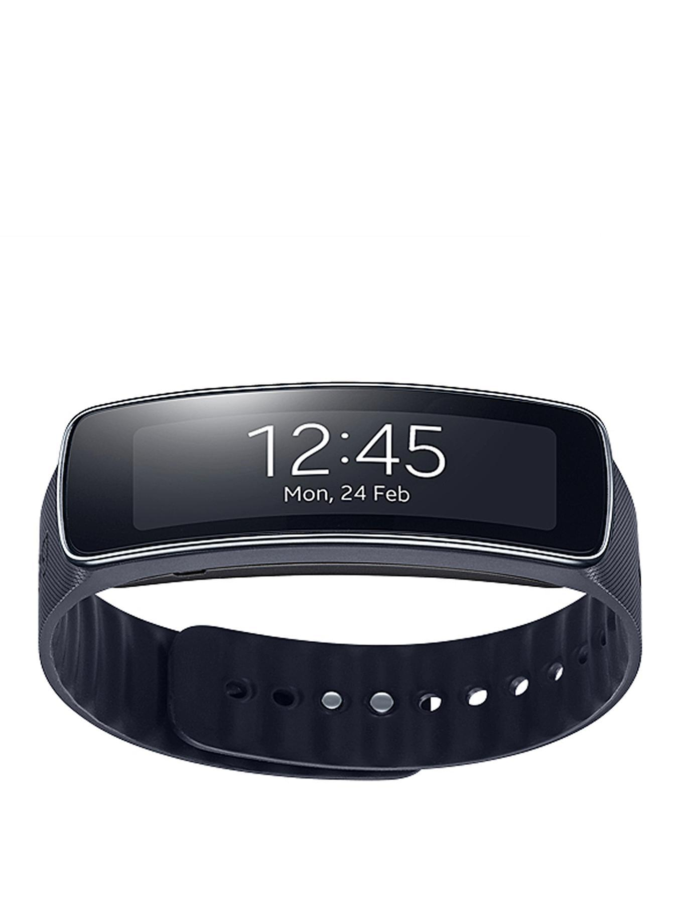 Samsung Gear Fit - Black, Orange,Black,Grey