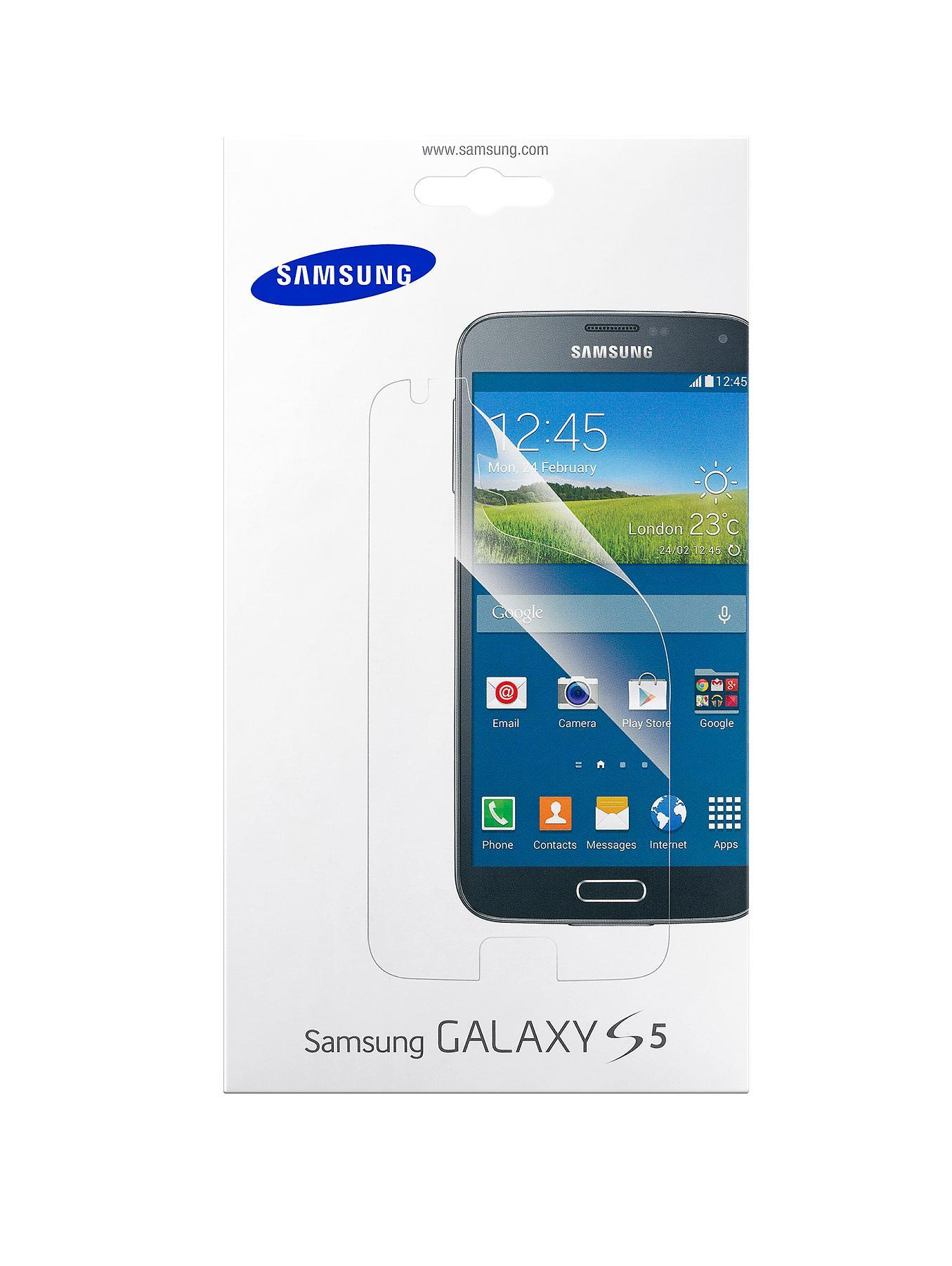 Samsung Original Galaxy S5 Screen Protector - Clear