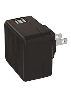 kensington-absolute-power-42-amp-wall-cube-with-powerwhiztrade-for-tablet-black