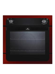 new-world-nw601f-60-cm-electric-fanned-oven-red-metallic