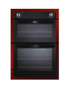 new-world-nw901do-90cm-built-in-electric-double-oven-red-metallic