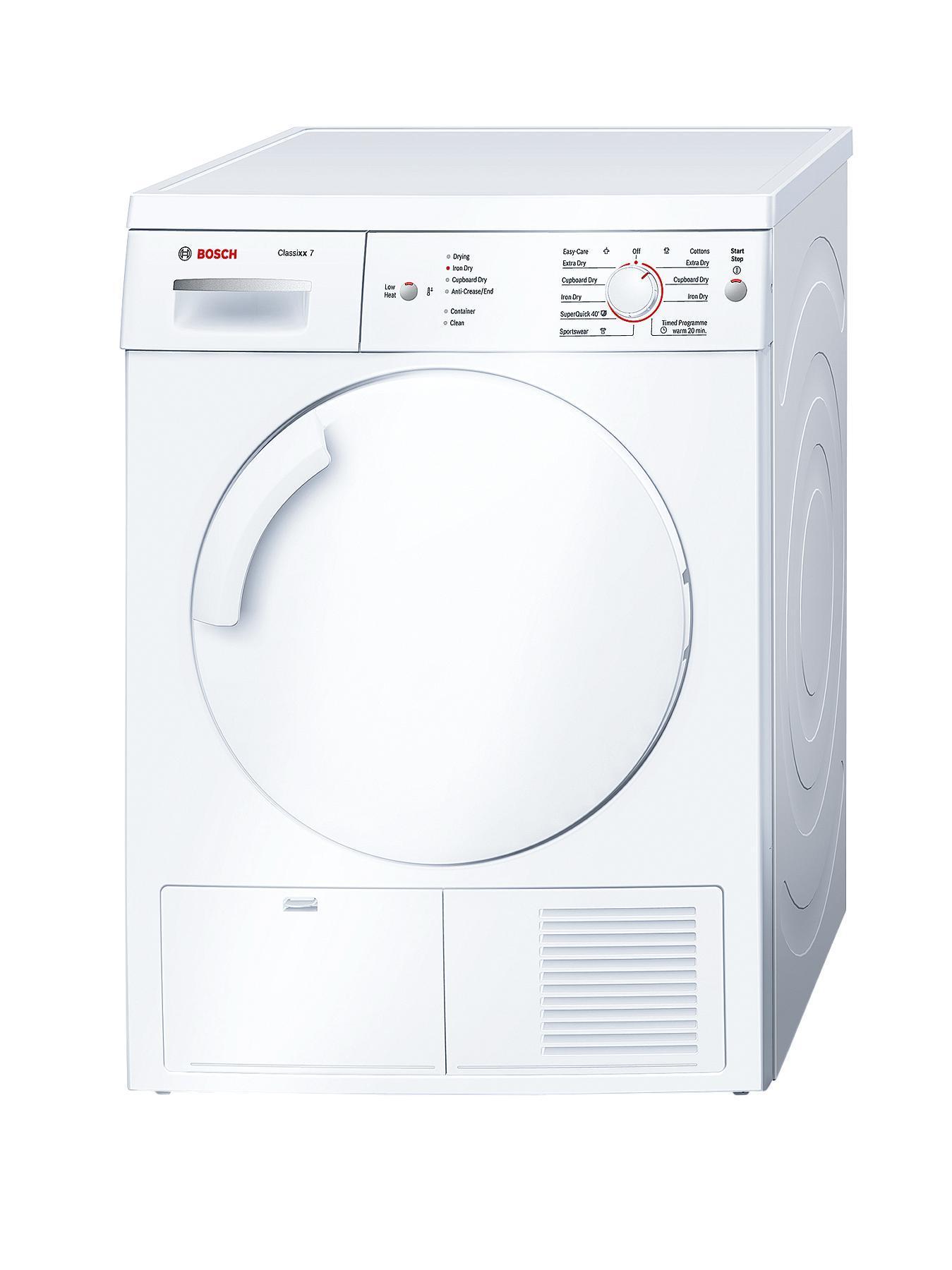 Bosch Classixx WTE84106Gb 7kg Load Condenser Tumble Dryer - White