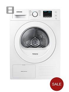samsung-dv70f5e0hgw-7kg-heat-pump-ecobubble-condenser-tumble-dryer-white