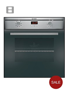 indesit-fims73jkcaix-60cm-built-in-electric-oven-black