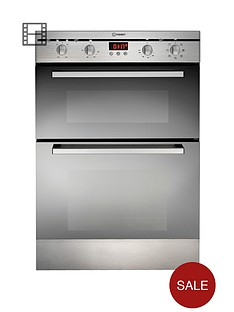 indesit-fimde23ixs-60cm-built-in-electric-double-oven-stainless-steel