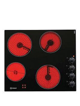 Indesit Vrm640Mc 60Cm Built-In Ceramic Hob - Black