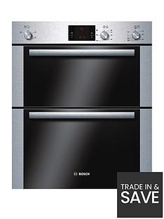 bosch-hbn13b251b-classixx-60cm-built-under-double-hot-air-oven-brushed-steel
