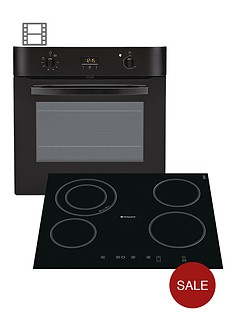 hotpoint-newstyle-sh33ks-built-in-single-electric-oven-and-cra641dc-ceramic-hob-black