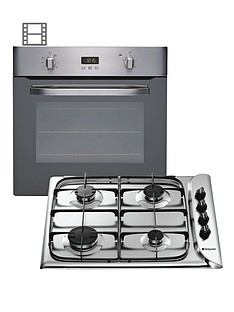 hotpoint-shs33xs-single-oven-and-g640sx-gas-hob-dual-fuel-pack
