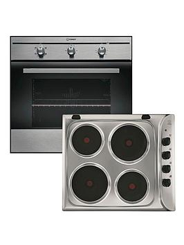 indesit-fim21kbix-single-oven-and-pim604ix-electric-hob-pack