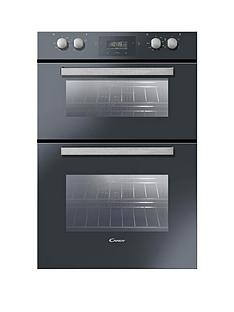 candy-fdp6109nx-60cm-built-in-multifunction-double-fan-oven-black