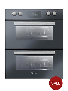 candy-tcp6107nx-60cm-built-under-multifunction-double-fan-oven-black