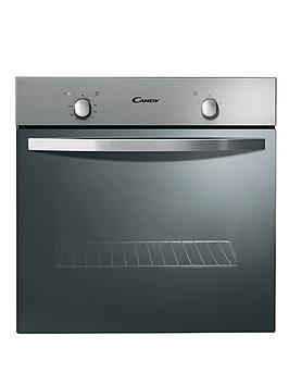 candy-fst201x-60cm-built-in-static-single-oven-stainless-steel