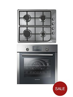 hoover-hoc709x-multi-function-60cm-gas-hob-single-fan-touch-control-oven
