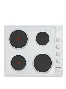 candy-ple64w-60cm-solid-plate-electric-hob-with-4-heat-zones-white