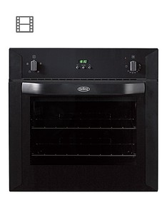 belling-bi60fp-60cm-built-in-single-fan-electric-oven-black