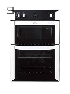 belling-bi90fp-60cm-built-in-double-fan-electric-oven-white