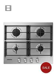 samsung-na64h3010as-60cm-built-in-gas-hob-stainless-steel