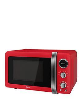 swan-sm22030rn-retro-20-litre-digital-microwave-red